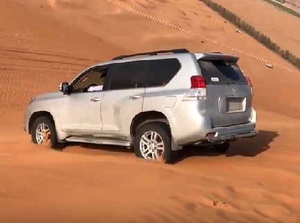 Morning Desert Safari - Dune Bashing